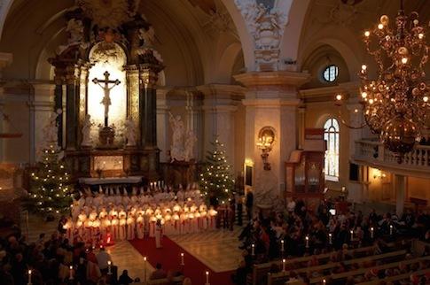 Lucia Fest in Stockholm