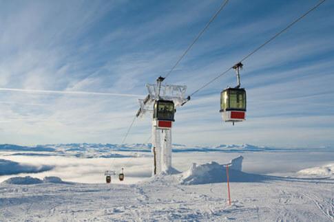 Skigebiet Åre in Schweden