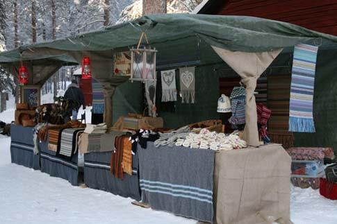 Stand Wintermarkt Jokkmokk