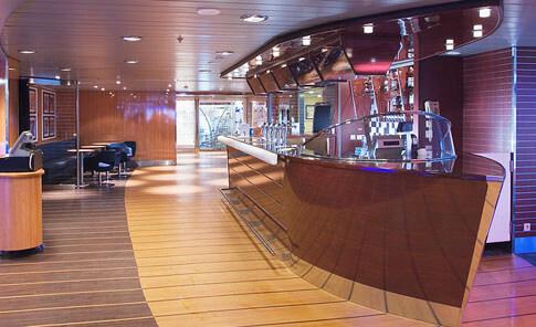 Stena Line Minikreuzfahrt Bar an Bord