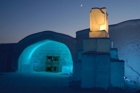 Eishotel in Jukksjärvi