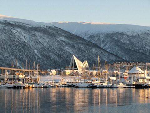 Die Eismeerkathedrale in Tromso