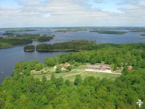 Camping & Ferienhäuser auf Getnö Gård