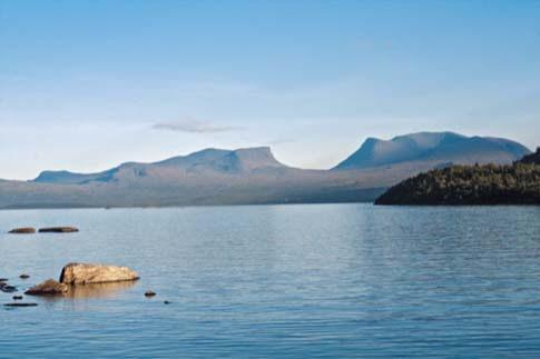 Lapporten im schwedischen Teil von Lappland