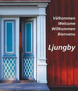 Willkommensschild Ljungby