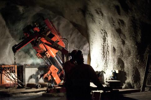 Bergbau- und Eisenindustrie in Schwedisch-Lappland