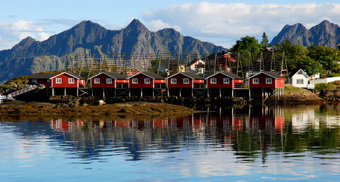 Moskenes Norwegen Lofoten
