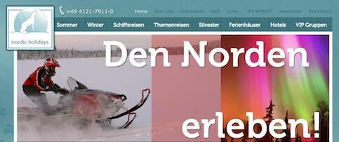 Skandinavien Spezialist nordic holidays