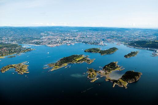 Oslo Luftansicht