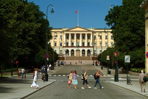 Schloss von Oslo