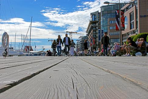 Aker Brygge Stadtteil in Oslo