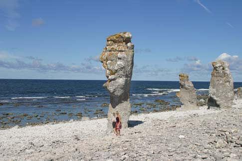 Raukar in Gotland