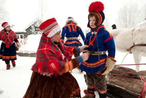 Samen Finnland