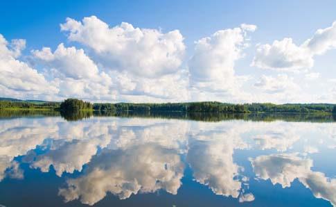 Der Siljansee in Dalarna