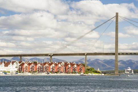 Stavanger in Fjordnorwegen