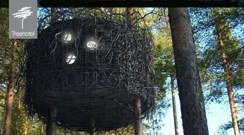 Das Treehotel in Schweden/Lappland