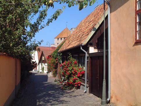 Die mittelalterliche Stadt Visby in Gotland