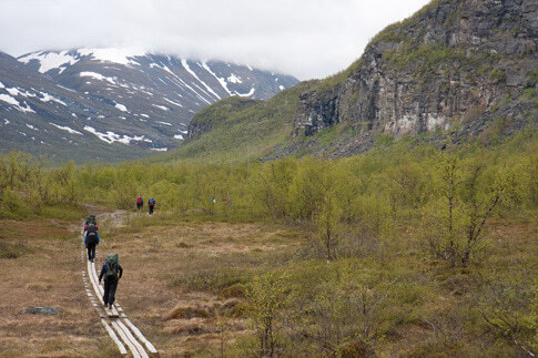 Kebnekaise in Schwedisch-Lappland