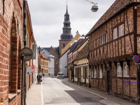 Ystad in Südschweden