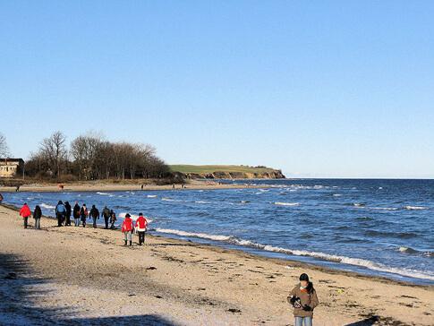 Strand und Steilküste von Boltenhagen