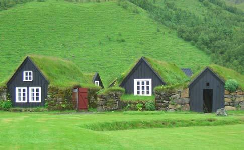 Ein Ferienhaus in Island