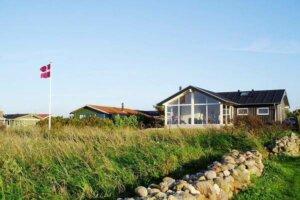 Ein Ferienhaus auf der Insel Fünen in Dänemark