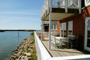 Ein Ferienhaus auf der Insel Møn in Dänemark