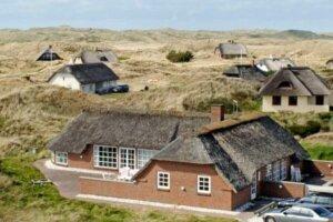 Ein Ferienhaus an der dänischen Westküste