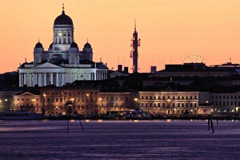Helsinki die Hauptstadt Finnlands