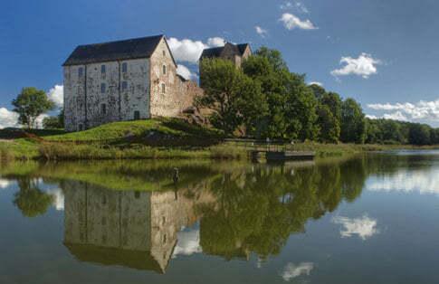 Schloss Kastelholm auf den Åland Inseln, Finnland