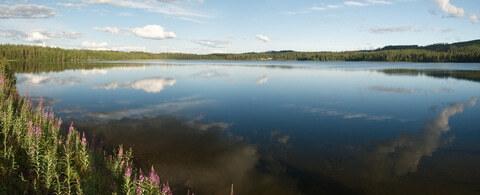 Die Kuusamo-Region, Lappland, Finnland