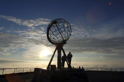 Nordkap Sehenswürdigkeit Norwegen