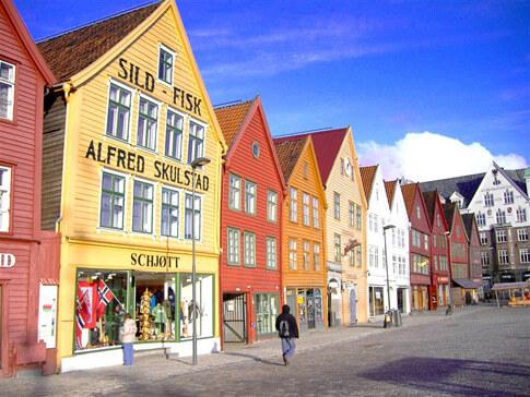 Bryggen Sehenswürdigkeit Norwegen
