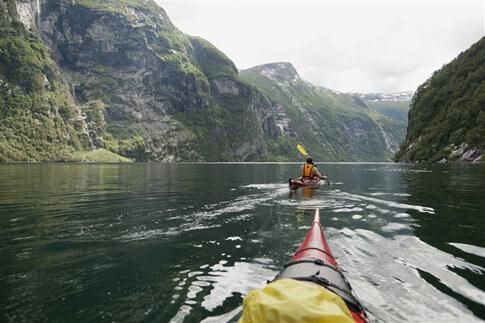 Geirangerfjord Sehenswürdigkeit Norwegen