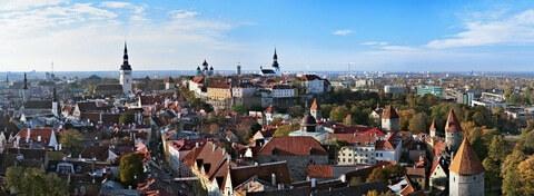 Panorama von Tallinn, Estland
