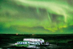 Das Polarlicht auf Island