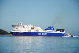 Eine der Fähren von Kiel nach Klaipeda: REGINA SEAWAYS