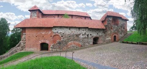 Ruinen des Gediminas Schlosspalastes