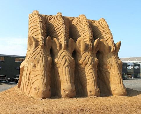 Sandfestival in Hvide Sande