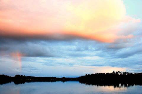 Die finnische Seenplatte