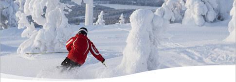 Skigebiete in Finnland