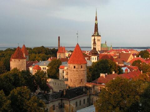 Alte Stadt von Tallinn, Estland