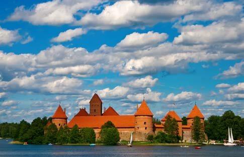 Trakai Schloss in Litauen