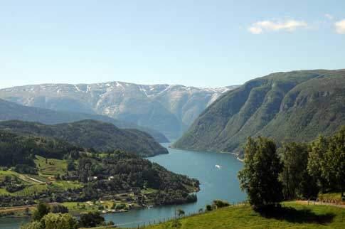 Fjorde Norwegen - der Hardangerfjord
