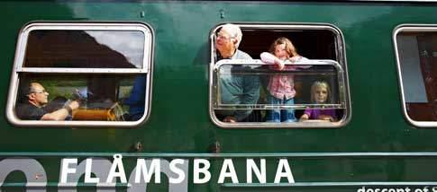 Fahrt mit der Flåmsbahn
