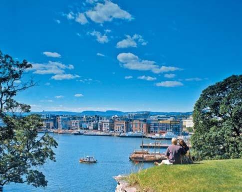 Oslo - die Hauptstadt Norwegens