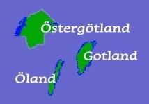 Karte Ostschweden