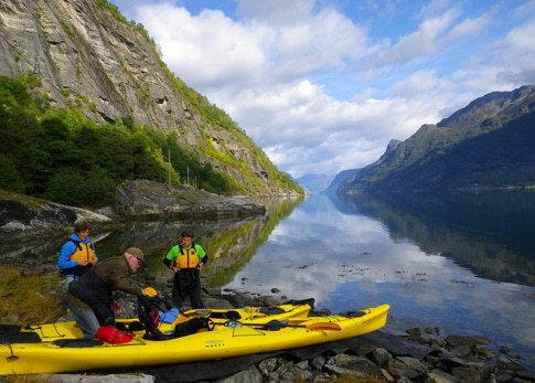 Der mächtige Sognefjord ist ein El Dorado für Paddler
