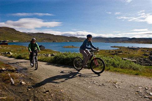 Der Rallarvegen ist die bekannteste und populärste Radstrecke Norwegens.