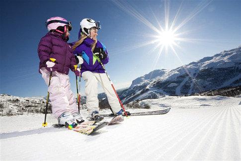 Skigebiete in Norwegen